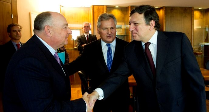 Meeting with the President of the European Commission José Manuel Barroso