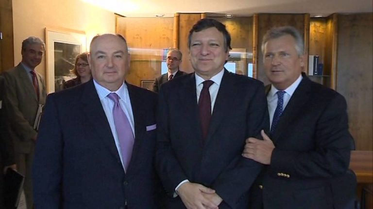 Meeting with Jose Barroso