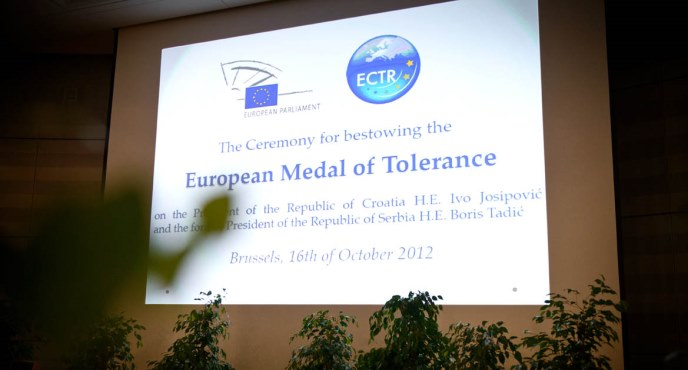 The European Medal of Tolerance 2012