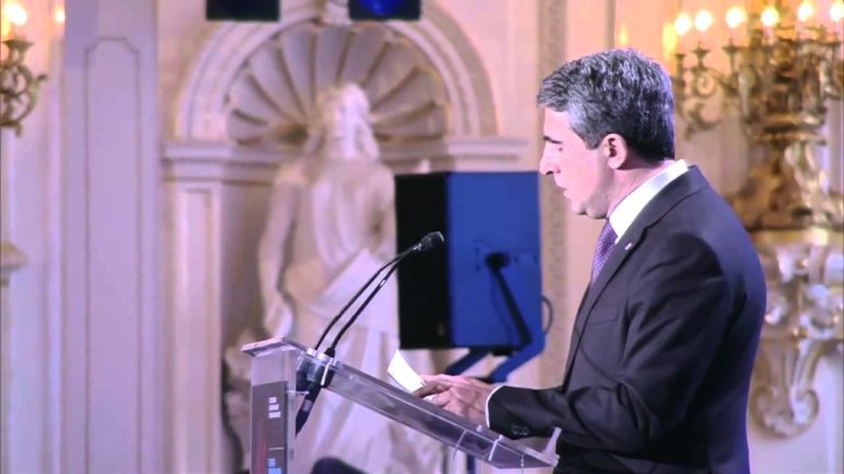 Let My People Live! Forum 2015 – Rosen Plevneliev addresses the participants at the Forum's Closing Session